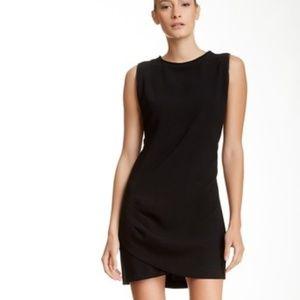 BCBG Black Sleeveless Midi Cocktail Dress, NWT, L